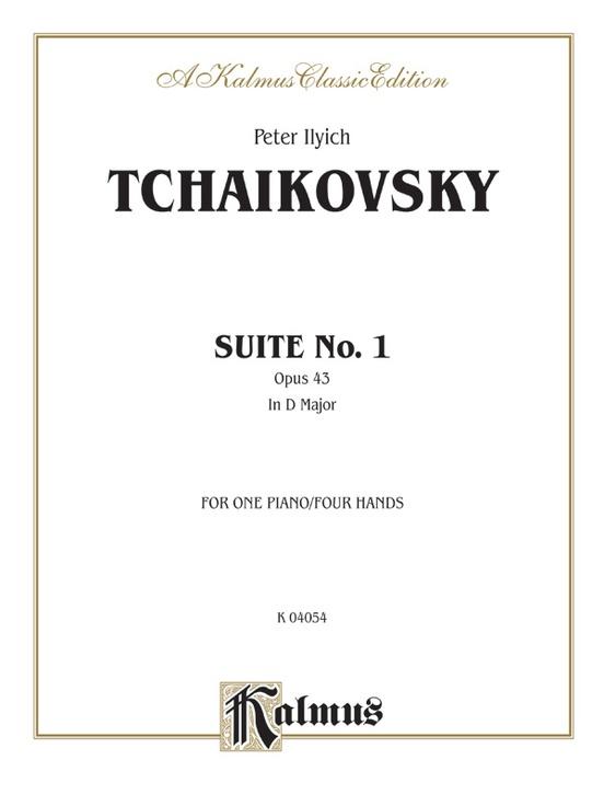 Suite No. 1 in D Major, Opus 43