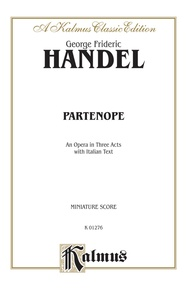 Partenope (1730), An Opera in Three Acts