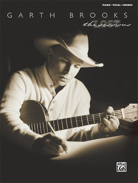 Garth Brooks The Lost Sessions Pianovocalchords Book Garth Brooks