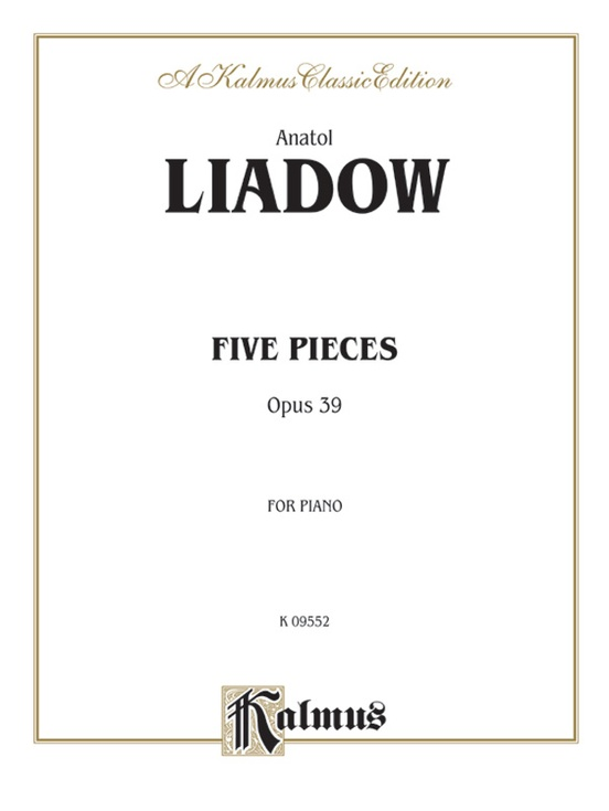 Five Pieces, Opus 39