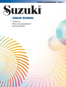 Suzuki Violin School Piano Acc., Volume 6 (Revised)