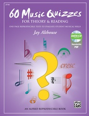 60 Music Quizzes for Theory and Reading