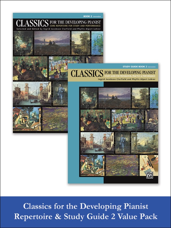 Classics for the Developing Pianist, Repertoire & Study Guide Book 2