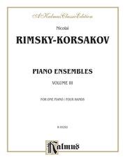 Piano Duets, Volume III