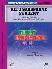 Student Instrumental Course: Alto Saxophone Student, Level III