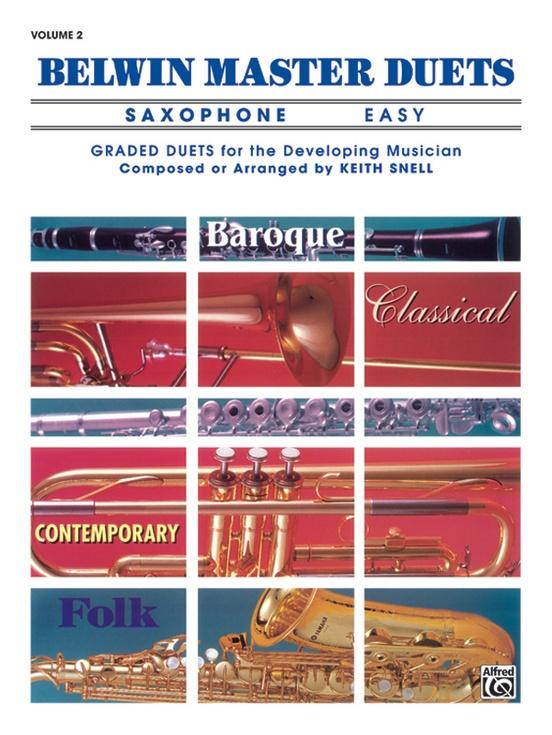Belwin Master Duets (Saxophone), Easy Volume 2