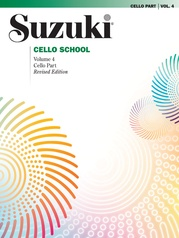 Suzuki Cello School Cello Part, Volume 4 (Revised)