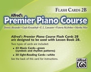 Premier Piano Course, Flash Cards 2B