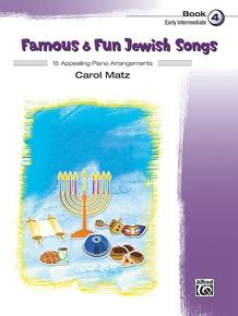Famous & Fun Jewish Songs, Book 4