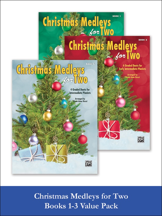 christmas medleys for two 1 3 value pack