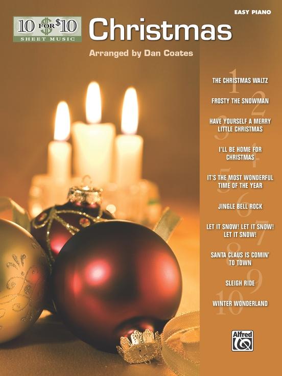 10 for 10 Sheet Music: Christmas