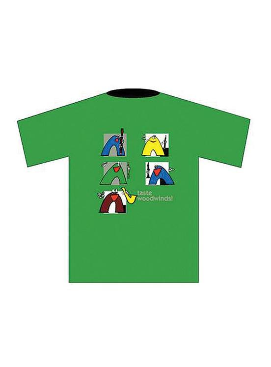 Taste Woodwinds! T-Shirt: Green (XX Large)