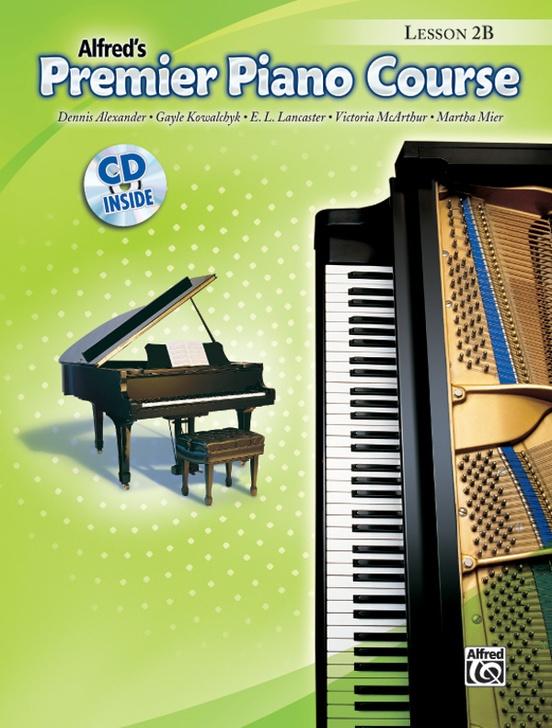Premier Piano Course, Lesson 2B