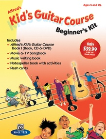 Alfred's Kid's Guitar Course: Beginner's Kit