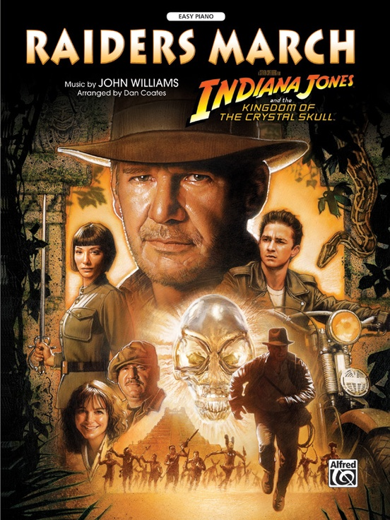 Raiders March (from Indiana Jones and the Kingdom of the Crystal Skull)