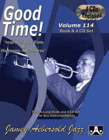 Jamey Aebersold Jazz, Volume 114: Good Time!