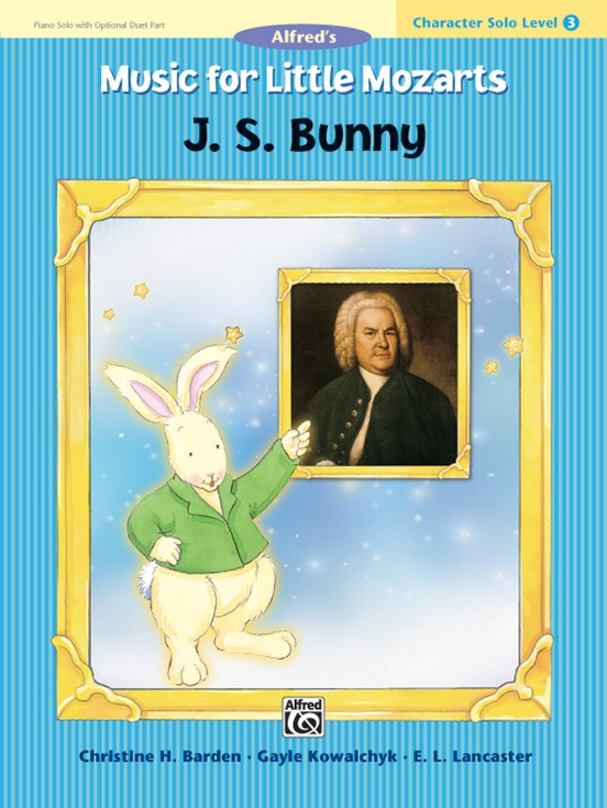 Music for Little Mozarts: Character Solo -- J. S. Bunny, Level 3