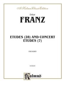 Etudes and Concert Etudes