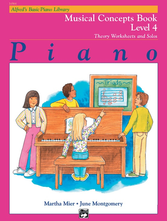 Alfred's Basic Piano Library: Musical Concepts Book 4