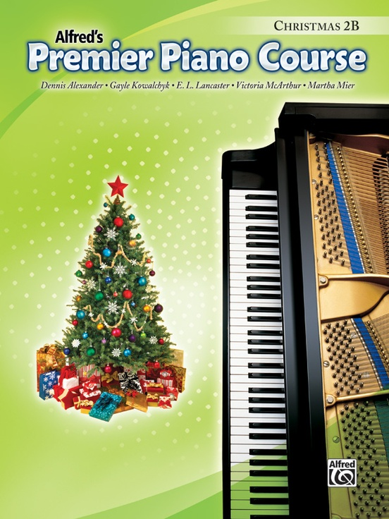 Premier Piano Course, Christmas 2B