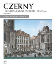Czerny, 160 8-Measure Exercises, Opus 821
