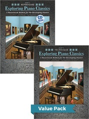 Exploring Piano Classics Level 1 (Value Pack)