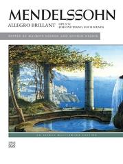 Mendelssohn, Allegro brillant