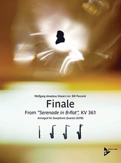 Finale from Serenade in B-flat,  KV 361