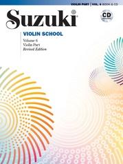 Suzuki Violin School Violin Part & CD, Volume 6 (Revised)