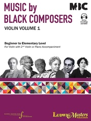 Music of Black Composers for Violin and Piano or Second Violin