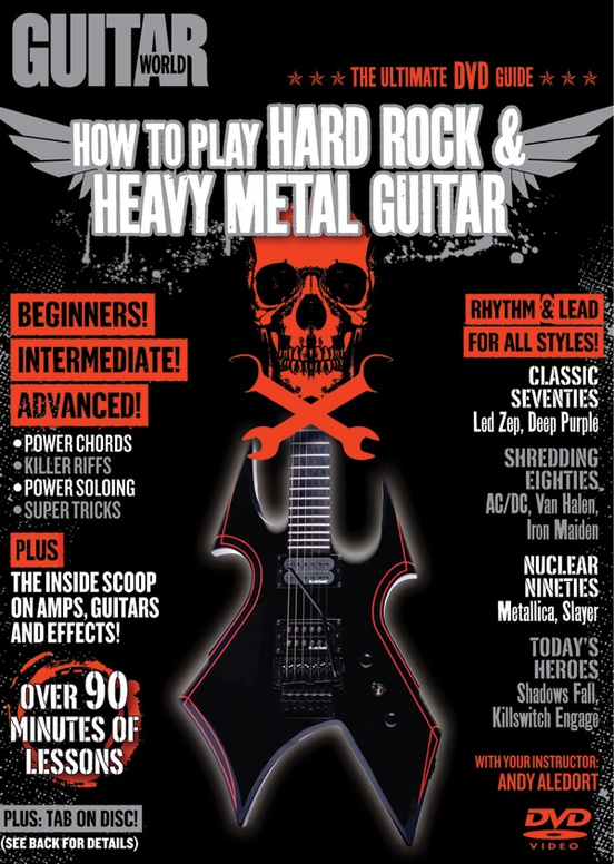 Guitar World How To Play Hard Rock Heavy Metal Guitar Guitar Dvd