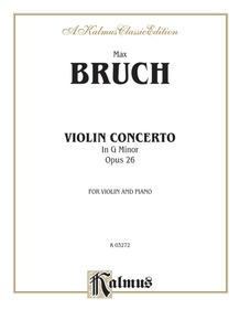 Violin Concerto in G Minor, Opus 26