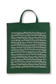 Tote Bag: Sheet Music (Green)