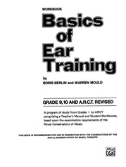 Basics of Ear Training, Grade 9-10 ARCT