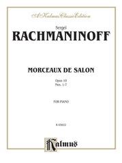Morceaux de Salon, Opus 10