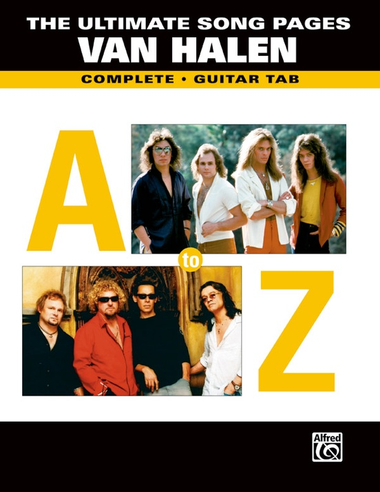 The Ultimate Song Pages Van Halen: A to Z