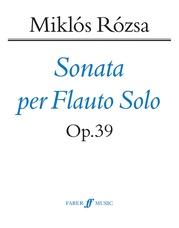 Flute Sonata, Opus 39