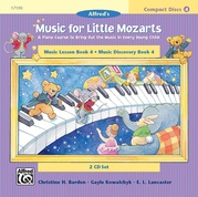 Music for Little Mozarts: CD 2-Disk Sets for Lesson and Discovery Books, Level 4