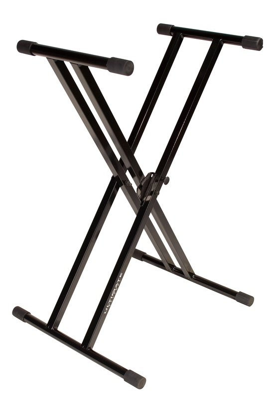 Ultimate Support IQ-2000 X-Frame Double Braced Keyboard Stand