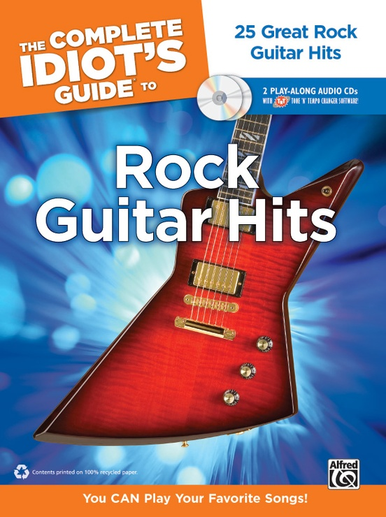 The Complete Idiot\'s Guide to Rock Guitar Hits: Guitar Book & 2 ...
