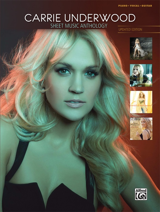 Carrie Underwood Sheet Music Anthology Updated Edition Piano