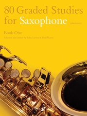 80 Graded Studies for Saxophone, Book One