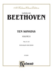Ten Violin Sonatas, Volume II (Nos. 6-10)
