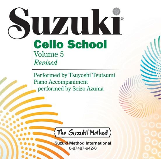 Suzuki cello school vol.5 image
