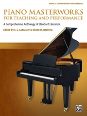 Piano Masterworks for Teaching and Performance, Volume 2