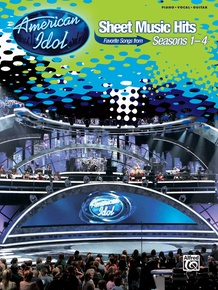 American Idol® Sheet Music Hits, Seasons 1-4