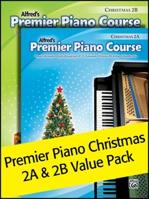 Premier Piano Course, Christmas 2A & 2B (Value Pack)