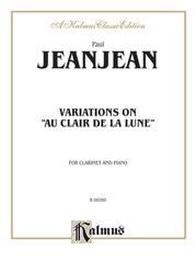 "Variations on ""Au Clair de la Lune"""