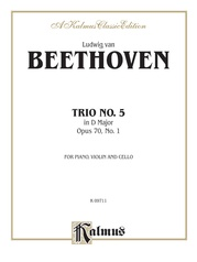 Piano Trio No. 5, Opus 70 No. 1 in D Major