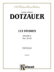 113 Studies, Volume II